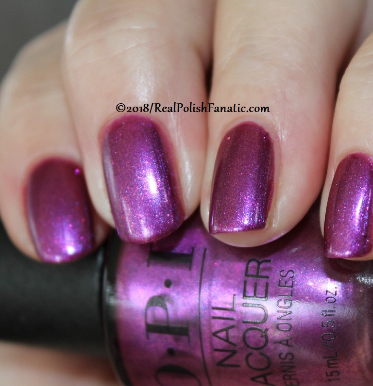 OPI - Berry Fairy Fun -- Holiday 2018 Disney's The Nutcracker and the Four Realms Collection (6)