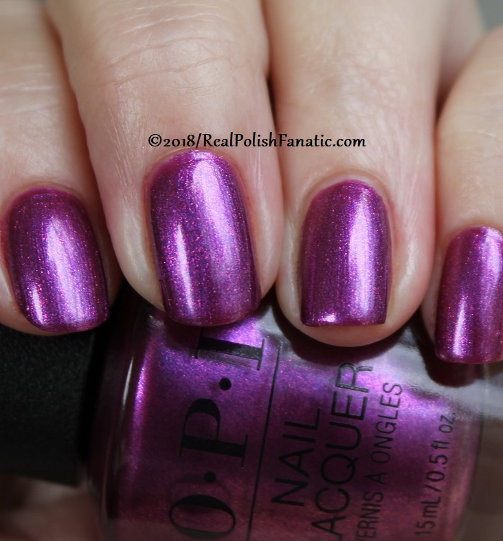 OPI - Berry Fairy Fun -- Holiday 2018 Disney's The Nutcracker and the Four Realms Collection (8)
