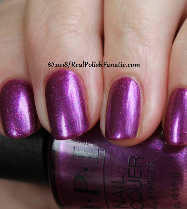 OPI - Berry Fairy Fun -- Holiday 2018 Disney's The Nutcracker and the Four Realms Collection (9)