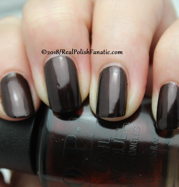 OPI - Black to Reality -- Holiday 2018 Disney's The Nutcracker and the Four Realms Collection (1)