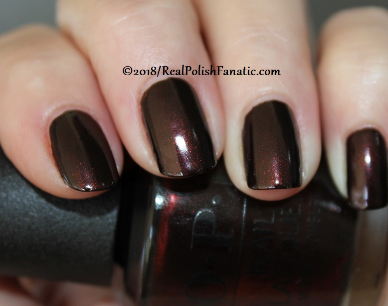 OPI - Black to Reality -- Holiday 2018 Disney's The Nutcracker and the Four Realms Collection (10)