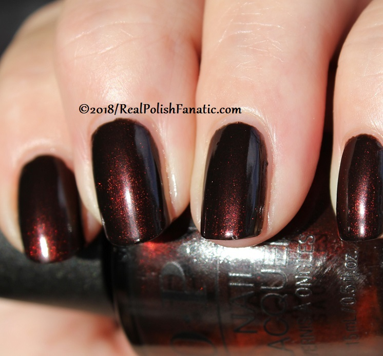 OPI - Black to Reality -- Holiday 2018 Disney's The Nutcracker and the Four Realms Collection (12)