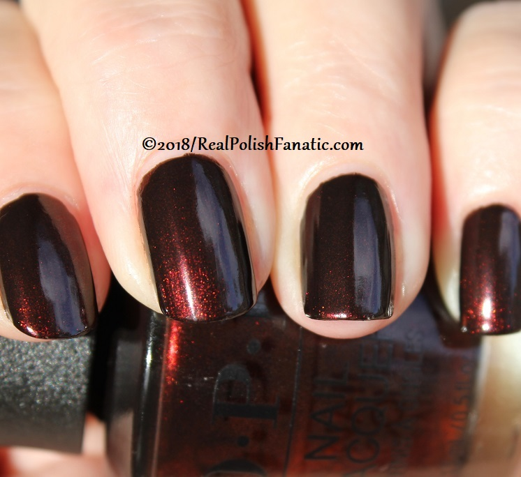 OPI - Black to Reality -- Holiday 2018 Disney's The Nutcracker and the Four Realms Collection (13)