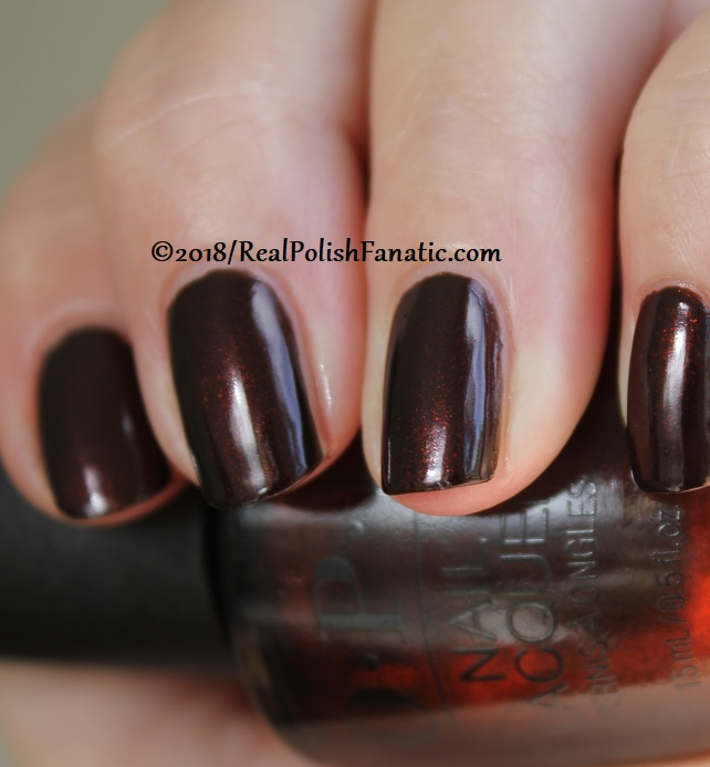 OPI - Black to Reality -- Holiday 2018 Disney's The Nutcracker and the Four Realms Collection (14)