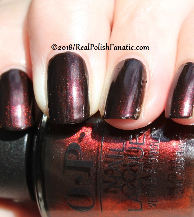 OPI - Black to Reality -- Holiday 2018 Disney's The Nutcracker and the Four Realms Collection (18)