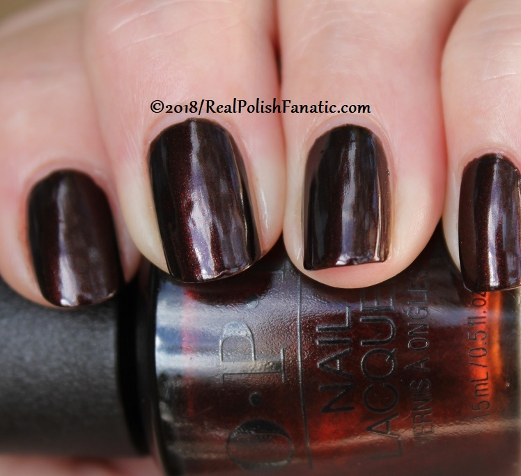 OPI - Black to Reality -- Holiday 2018 Disney's The Nutcracker and the Four Realms Collection (19)