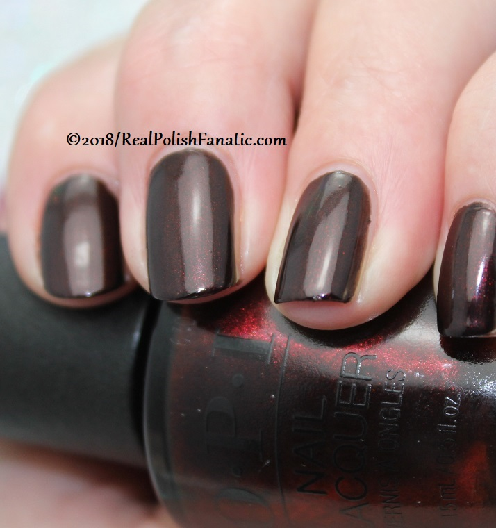 OPI - Black to Reality -- Holiday 2018 Disney's The Nutcracker and the Four Realms Collection (2)
