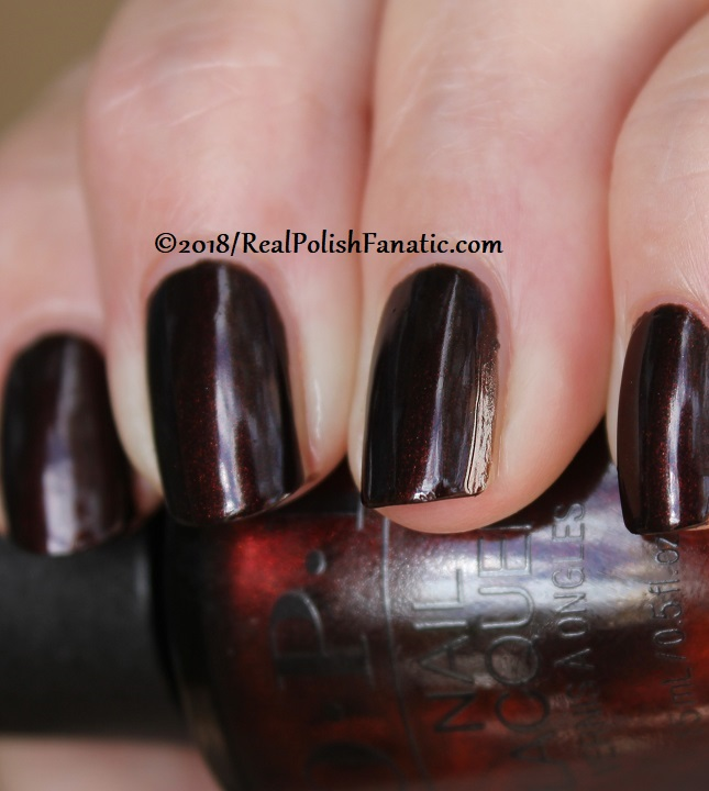 OPI - Black to Reality -- Holiday 2018 Disney's The Nutcracker and the Four Realms Collection (20)