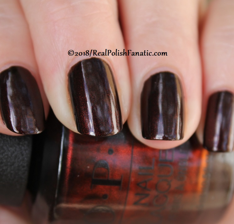 OPI - Black to Reality -- Holiday 2018 Disney's The Nutcracker and the Four Realms Collection (21)