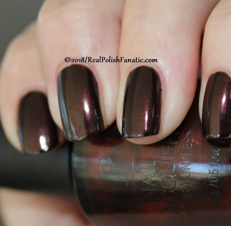 OPI - Black to Reality -- Holiday 2018 Disney's The Nutcracker and the Four Realms Collection (9)