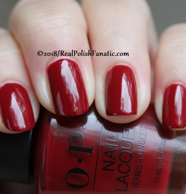 OPI - Ginger_s Revenge -- Holiday 2018 Disney's The Nutcracker and the Four Realms Collection (10)