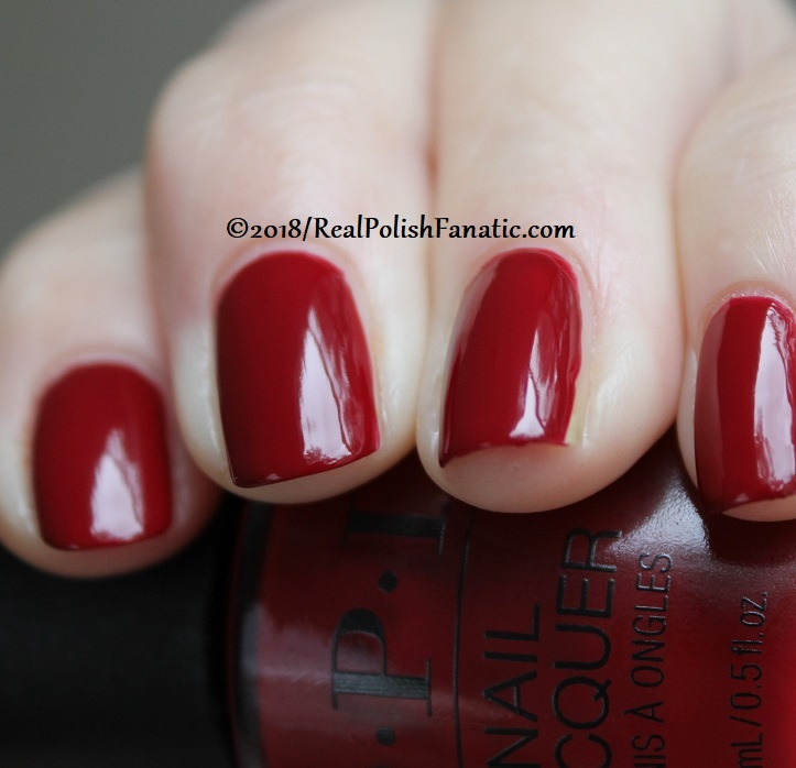 OPI - Ginger_s Revenge -- Holiday 2018 Disney's The Nutcracker and the Four Realms Collection (11)