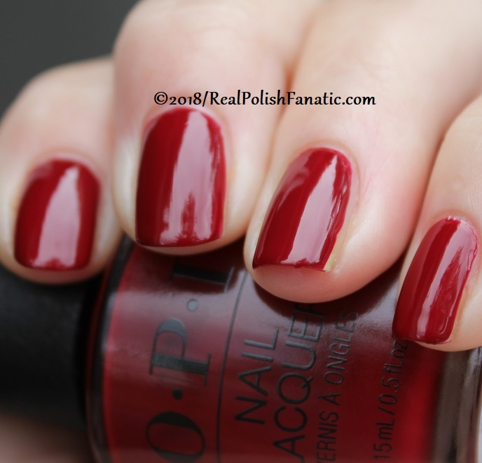 OPI - Ginger_s Revenge -- Holiday 2018 Disney's The Nutcracker and the Four Realms Collection (13)