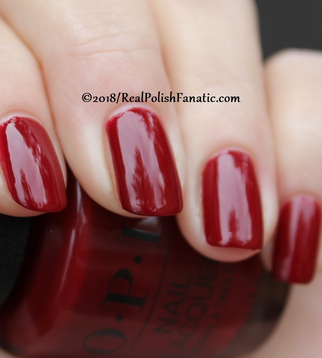 OPI - Ginger_s Revenge -- Holiday 2018 Disney's The Nutcracker and the Four Realms Collection (14)