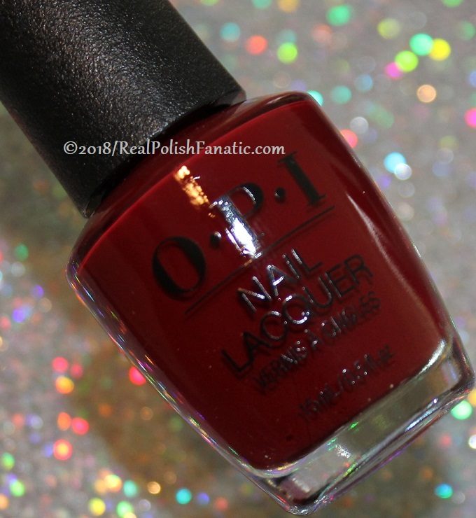 OPI - Ginger_s Revenge -- Holiday 2018 Disney's The Nutcracker and the Four Realms Collection (2)