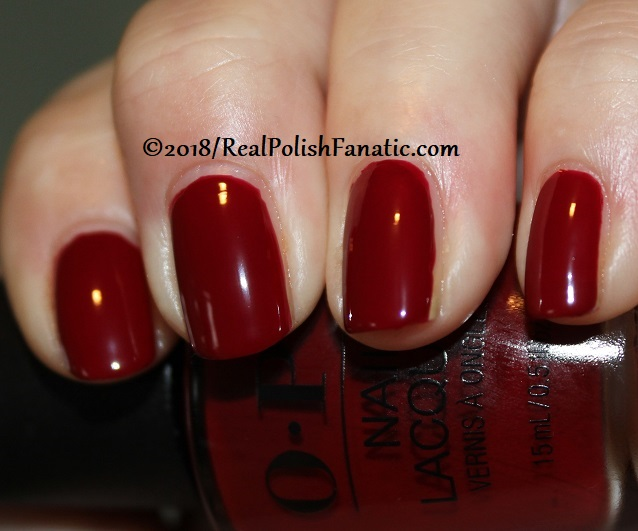 OPI - Ginger_s Revenge -- Holiday 2018 Disney's The Nutcracker and the Four Realms Collection (5)
