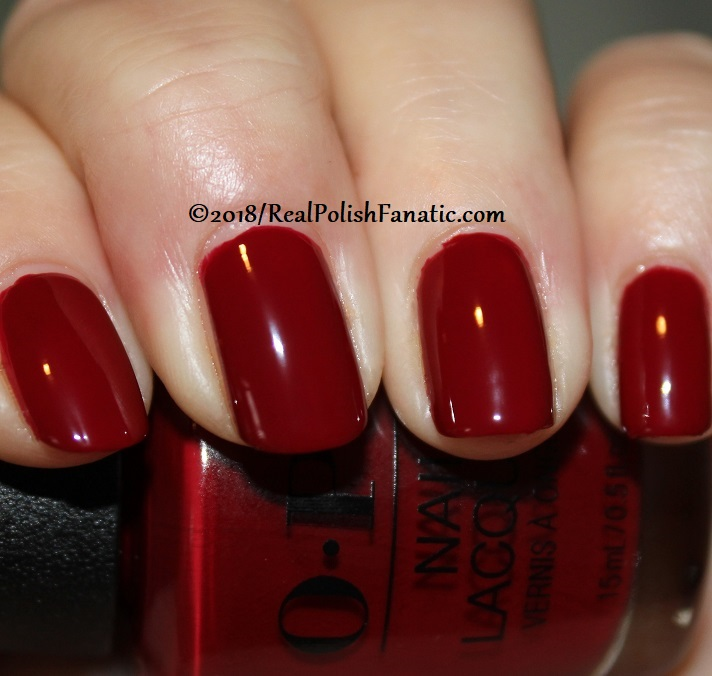 OPI - Ginger_s Revenge -- Holiday 2018 Disney's The Nutcracker and the Four Realms Collection (6)