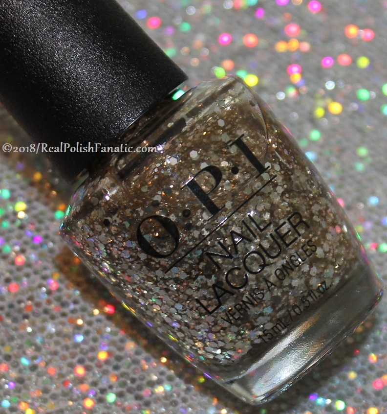 OPI Glitters - Dreams On A Silver Platter -- Holiday 2018 Disney's The Nutcracker and the Four Realms Collection (2)