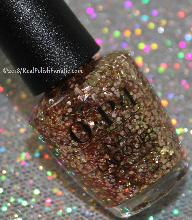 OPI Glitters - I Pull The Strings -- Holiday 2018 Disney's The Nutcracker and the Four Realms Collection (2)