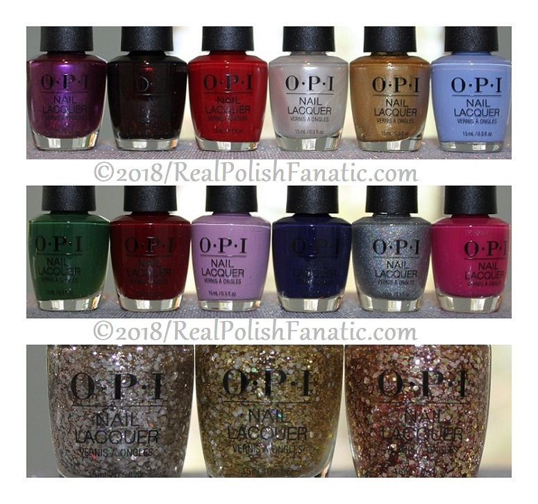 OPI Holiday 2018 Disney's The Nutcracker and the Four Realms Collection