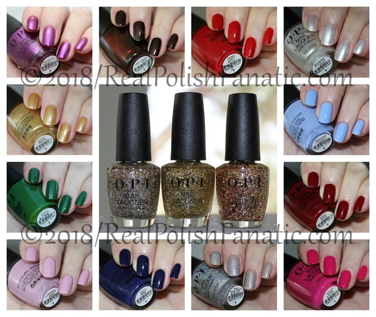 OPI Holiday 2018 Disney's The Nutcracker and the Four Realms Collection.