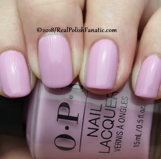 OPI - Lavendare to Find Courage -- Holiday 2018 Disney's The Nutcracker and the Four Realms Collection (2)