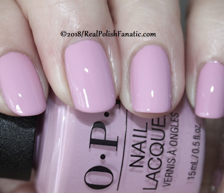 OPI - Lavendare to Find Courage -- Holiday 2018 Disney's The Nutcracker and the Four Realms Collection (5)