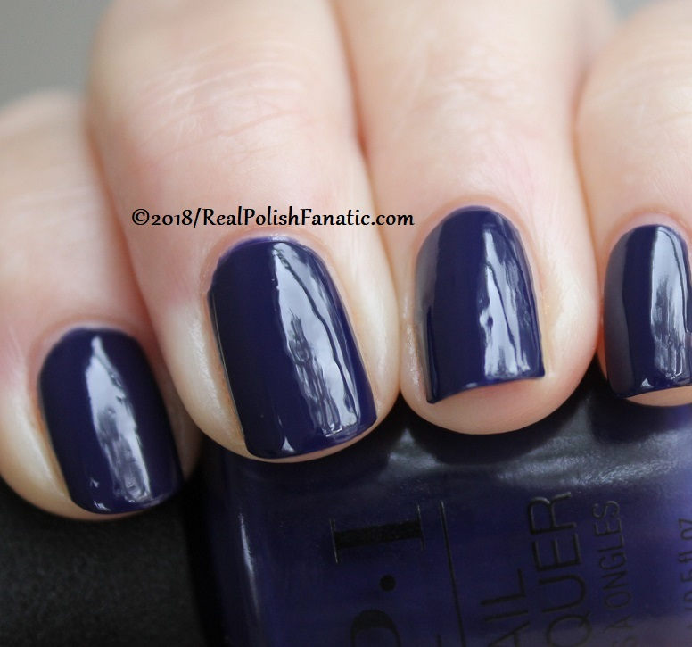 OPI - March in Uniform -- Holiday 2018 Disney's The Nutcracker and the Four Realms Collection (10)