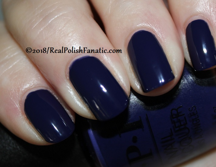 OPI - March in Uniform -- Holiday 2018 Disney's The Nutcracker and the Four Realms Collection (5)