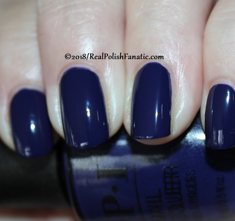 OPI - March in Uniform -- Holiday 2018 Disney's The Nutcracker and the Four Realms Collection (8)