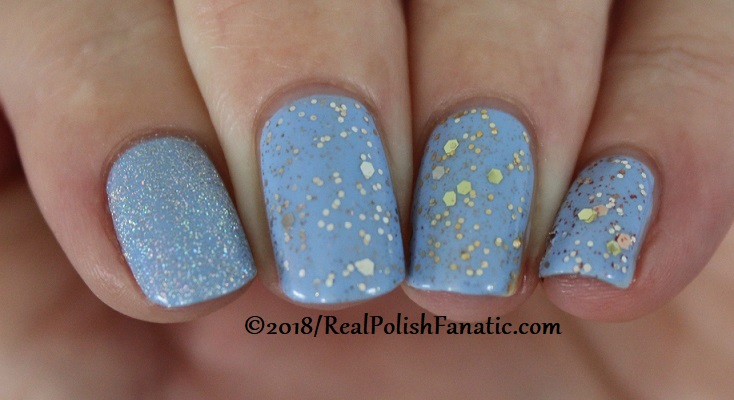 OPI Tinker, Thinker Winker + 3 Glitters and Dreams Need Clara-fication (3)