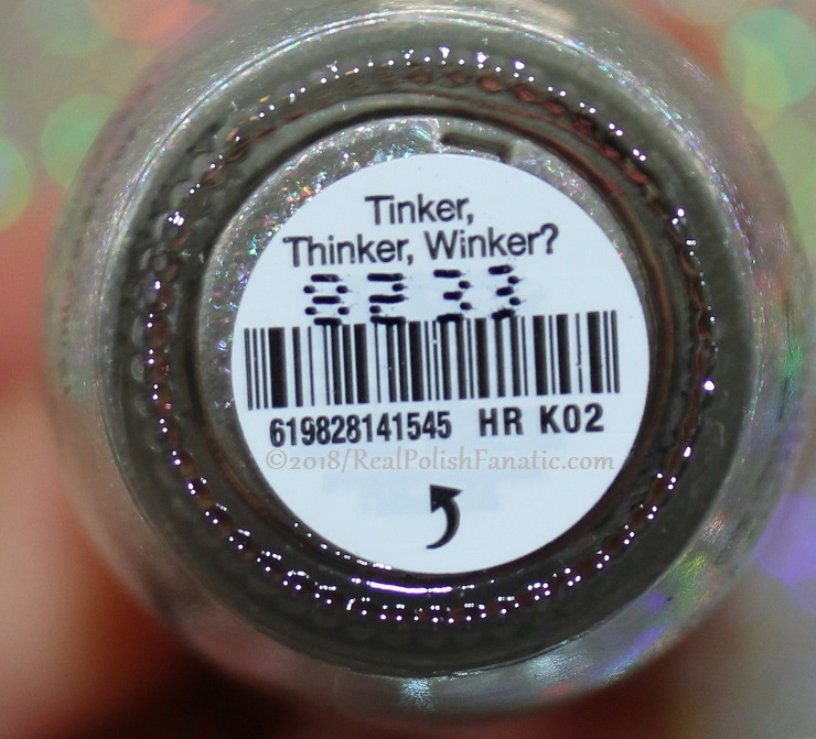OPI - Tinker, Thinker, Winker -- Holiday 2018 Disney's The Nutcracker and the Four Realms (1)
