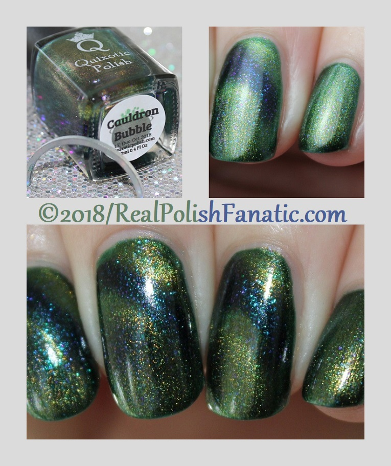 Quixotic Polish - Cauldron Bubble -- LE Halloween Duo 2018