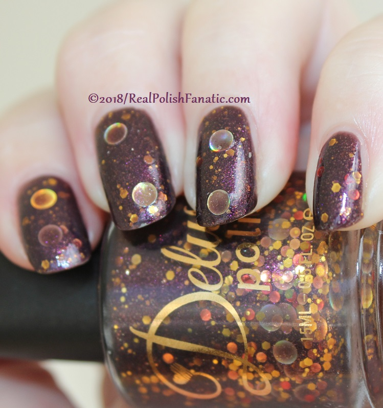Delush Polish - The Priestess -- Sept 2015 Dames of Thrones Collection (23)