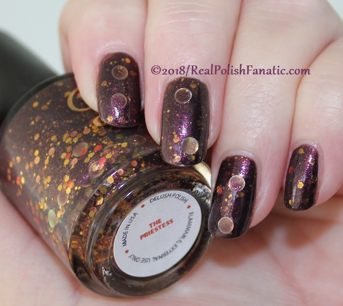 Delush Polish - The Priestess -- Sept 2015 Dames of Thrones Collection (6)