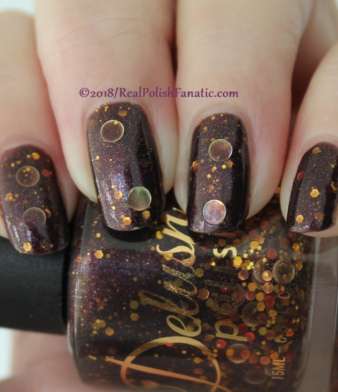 Delush Polish - The Priestess -- Sept 2015 Dames of Thrones Collection (8)