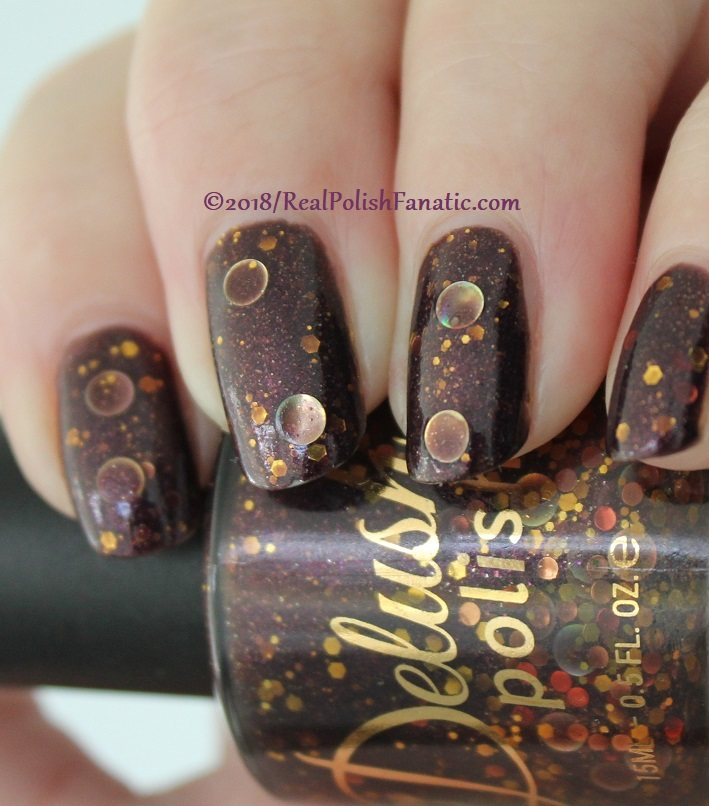 Delush Polish - The Priestess -- Sept 2015 Dames of Thrones Collection (9)