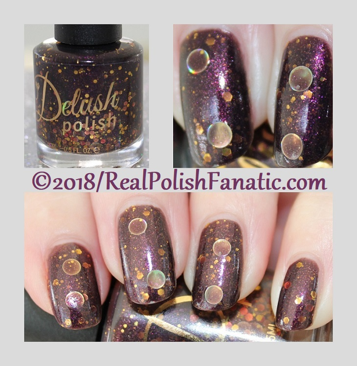 Delush Polish - The Priestess -- Sept 2015 Dames of Thrones Collection
