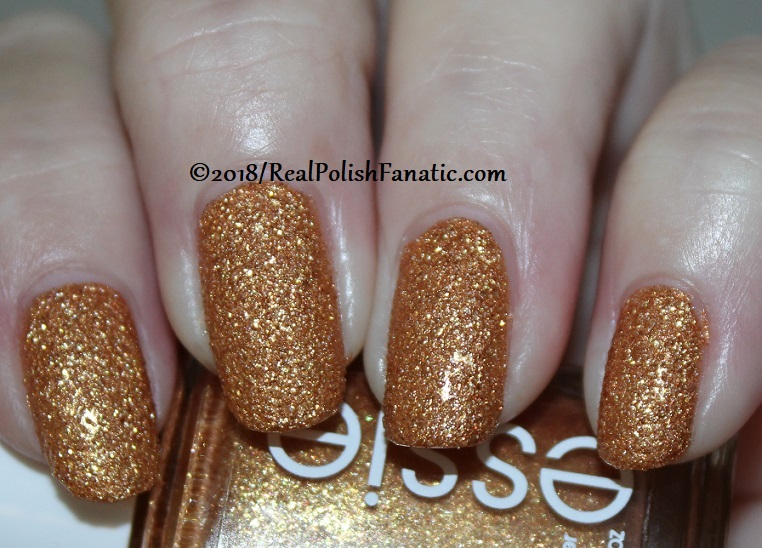 Essie - Can't Stop Her In Copper -- Fall 2018 Concrete Glitter Collection (1)