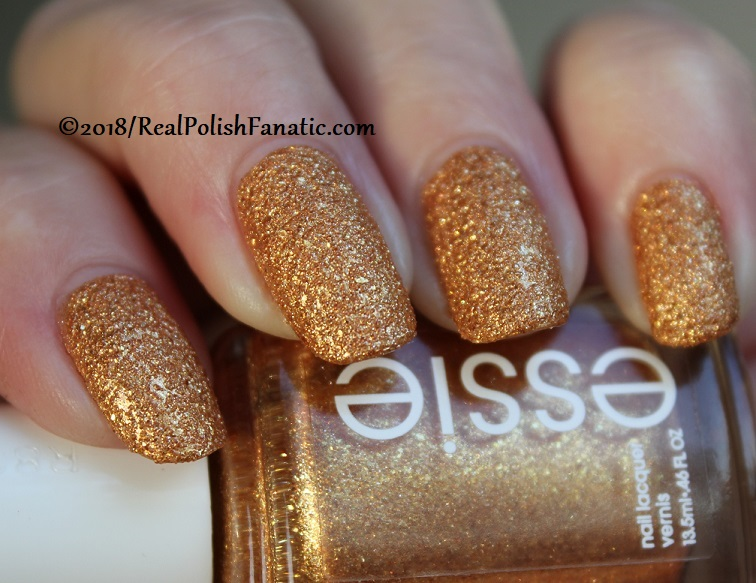 Essie - Can't Stop Her In Copper -- Fall 2018 Concrete Glitter Collection (14)