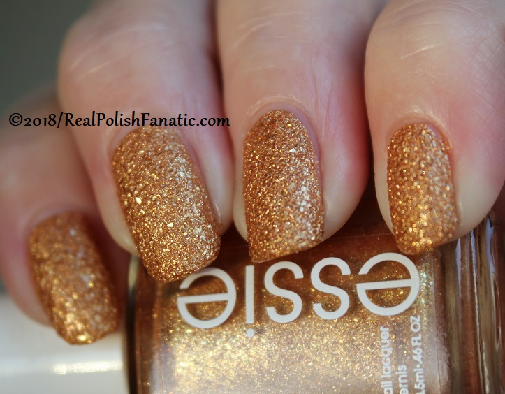Essie - Can't Stop Her In Copper -- Fall 2018 Concrete Glitter Collection (15)