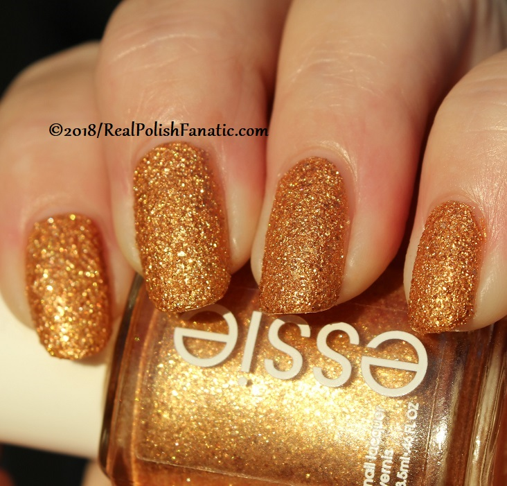 Essie - Can't Stop Her In Copper -- Fall 2018 Concrete Glitter Collection (18)