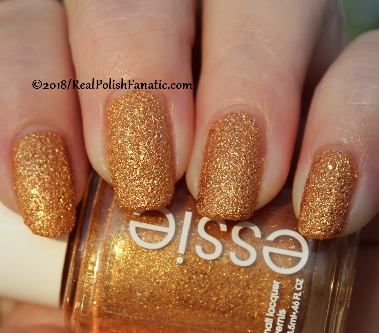 Essie - Can't Stop Her In Copper -- Fall 2018 Concrete Glitter Collection (22)