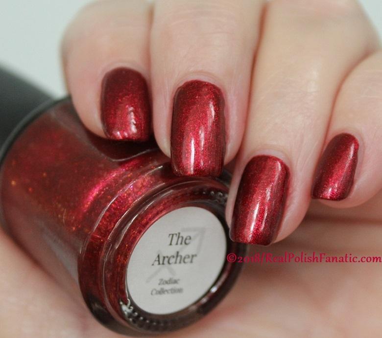 Geekish Glitter Lacquer - The Archer -- Zodiac Series Sagittarius (35)