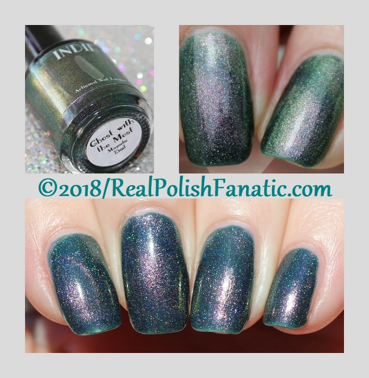 Indie Lacquer - Ghost With the Most -- October 2018 Ghost With the Most Collection