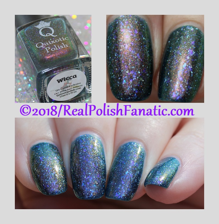 Quixotic Polish - Wicca -- October 2018 TIS San Antonio Exclusive
