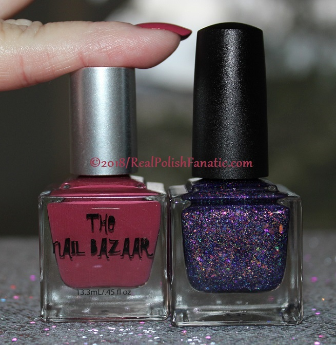 The Nail Bazaar - Cosmic Cranberry (6)