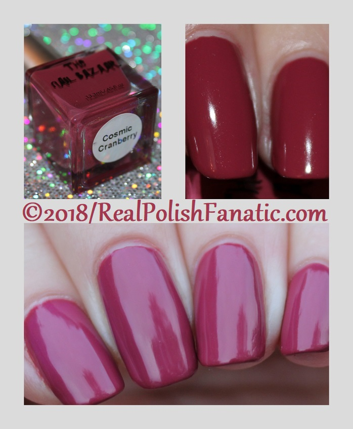 The Nail Bazaar - Cosmic Cranberry