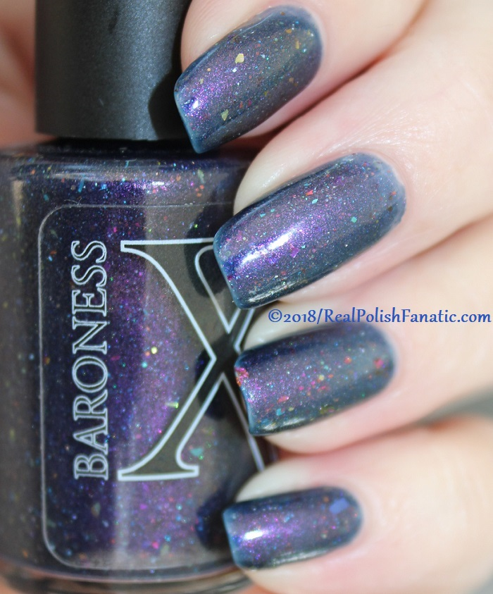 Baroness X Polish - In A Galaxy Purr, Purr Away -- November 2017 Cats In Space Box (25)