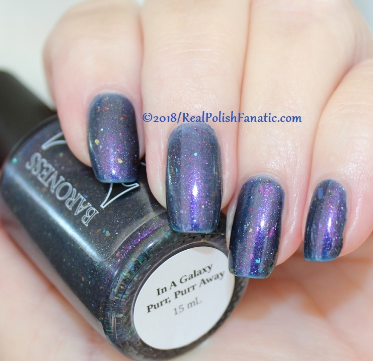 Baroness X Polish - In A Galaxy Purr, Purr Away -- November 2017 Cats In Space Box (26)